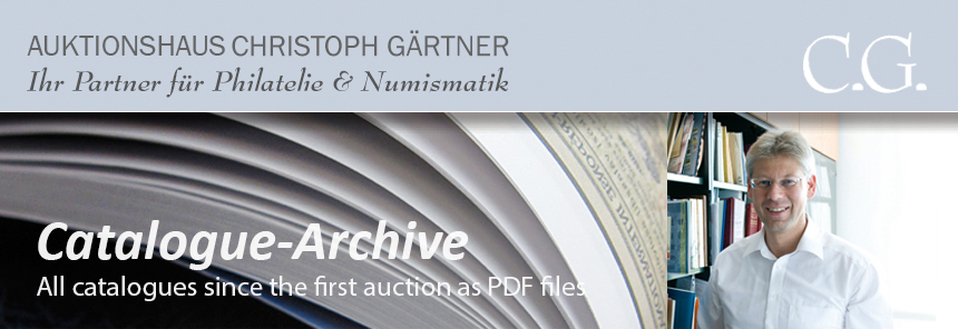 Auktionshaus Christoph Gärtner - Catalogue Archive